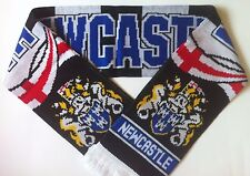 NEWCASTLE Football Scarve NEW from Superior Acrylic Yarns