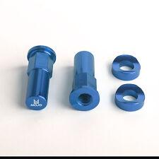 MOJO KTM Rim Lock Nuts Blue - CNC Billet Anodized Aluminum | MOJO-KTM-RLBLU