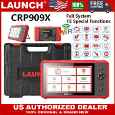 LAUNCH X431 CRP909X OBD2 Auto All System Diagnostic Scanner Tablet Immo TPMS ABS