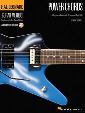 HAL LEONARD GUITAR METHOD : POWER CHORDS : 20 ROCK RIFFS - BOOK AND CD!
