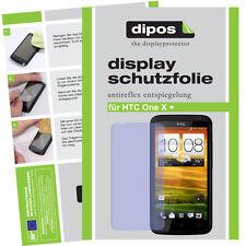 1x HTC One X+ Schutzfolie matt Displayschutzfolie Antireflex Displayfolie