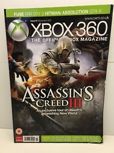 Xbox 360 The Official Xbox Magazine  Issue 91 November 2012 UK free post