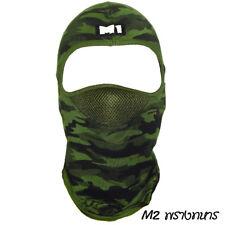 M1 Motorcycle camo   Full  Face Mask Dustproof  UV Breathable biker/ski/garden