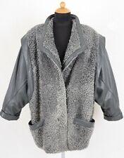 20) Persianer Swakara Pelzjacke Leder Echtpelz Pelz Jacke - Persian lamb coat