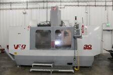 """USED HAAS VF-9/50 CNC VERTICAL MILL 1999 Cat 50 84.40.30"""" 5000 RPM Fourth Axis"""