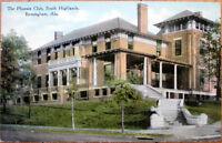 1910 Postcard: Phoenix Club, South Highlands - Birmingham, Alabama AL
