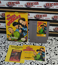 The Three Stooges NES Nintendo Game-  * In Box *