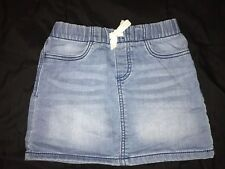Little Girls Oshkosh B'gosh Denim Skirt Size 5