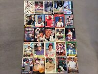 HALL OF FAME Baseball Card Lot 1977-2019 LOU GEHRIG DEREK JETER ICHIRO RIPKEN