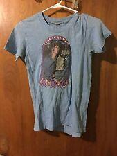 Eric Carmen Women's Baby Blue tshirt Vintage 80s rare size S