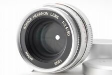 【AB Exc+】 Konica HEXANON 50mm f/2.4 Lens for Leica L39 Screw From JAPAN R3341