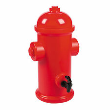 Firefighter Party Fire Hydrant Drink Dispenser - Party Supplies - 1 Piece