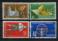 Switzerland 1955 SG#558-561 Publicity Issue Used Set #A69948