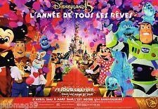 Publicité advertising 2007 (2 pages) Disneyland paris anniversaire 15 ans