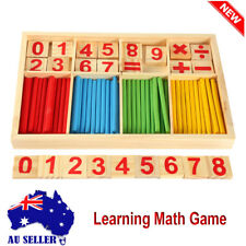Wooden Montessori Mathematics Material Learning Tool Toy for Kid Early Education