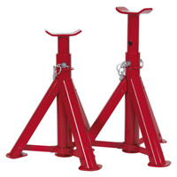 Sealey AS2000F Axle Stands 4T Capacity per Pair 2T per stand TUV/GS Folding Type