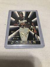 BARONS Michael Jordan Official Minor League Baseball card.