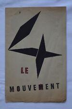 [ART CINETIQUE] -Le mouvement -  Denise René 1955 - Agam, Calder, Marcel Duchamp