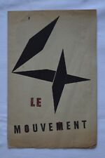 [Art Kinetik] - Der Bewegungsmelder - Denise René 1955 - Agam, Calder, Marcel