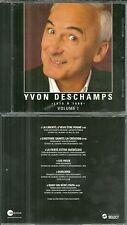 RARE / CD - YVON DESCHAMPS : 1975 A 1988 - VOLUME 1 / QUEBEC CANADA