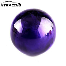 Purple Round Ball Shape Car Shift Knob Gear Shifter Lever Manual Transmission 5