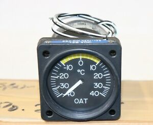 New Mooney and Beechcraft OAT, Outside Air Temperature Gauge, PN 0221-128