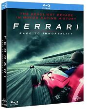 FERRARI: RACE TO IMMORTALITY (2017): BLU-RAY - Motor Racing Documentary - NEW UK