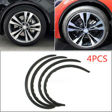 Carbon Fiber Universal Car Wheel Eyebrow Arch Trim Lips Fender Flares Protector