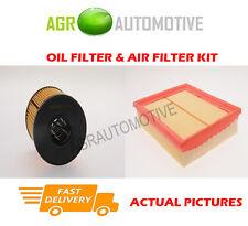 DIESEL SERVICE KIT OIL AIR FILTER FOR RENAULT VEL SATIS 2.2 150 BHP 2002-09