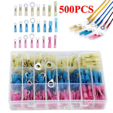 500pcs Heat Shrink Wire Connector Diy Kit Waterproof Marine Automotive Terminals