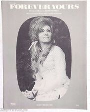 Vintage 1969 Sheet Music: Dottie West FOREVER YOURS (Jimmy Peppers) Husky Music