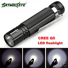 2000LM Portable 7W CREE Q5 LED Flashlight Waterproof Torch Light 14500/AA Lamp