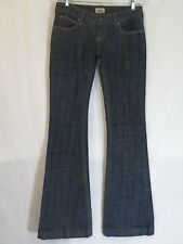 Free People women's blue flare jeans size 26 inseam 34.5 long tall