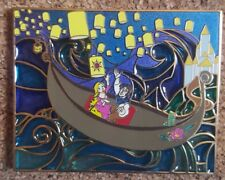 Disney Stained Glass Tangled Rapunzel Flynn Fantasy Pin LE 75