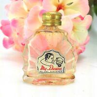 Vintage My Desire Miniature Mini Glass Perfume Bottle by Bo-Kay Foil Label