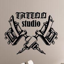 Tattoo Studio Walltattoo Mur Autocollant Mural Wallpaper mur bijoux 71 cm