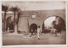 LIBIA 1936 COLONIA ITALIANA TRIPOLI-LA PORTA DELLA CITTA VECCHIA
