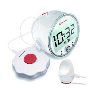 Bellman & Symfon - Sveglia con potente Suoneria, Vibrazione e Flash e Sensor