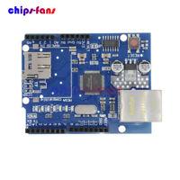 W5100 Ethernet Shield Expansion Board For Arduino UNO ATMega 328 1280 Mega 2560