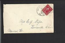 HIGHLAND, WEST VIRGINIA COVER, 1905, #319, RITCHIE CO. DPO: 1850/1980.