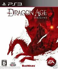 Used PS3 Dragon Age: Origins SONY PLAYSTATION 3 JAPAN JAPANESE IMPORT