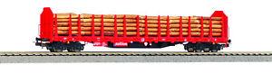 Piko HO 72196 Stammholztransportwagen Roos-t642 der DB AG - AC - LIMITIERT - NEU