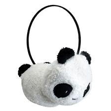 Winter Cute Panda Earmuff Ear Muff Warmer-White T1