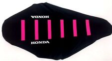 New PINK HONDA Ribbed Seat cover XR80 XR100 2001-03,CRF80 CRF100 2003-2015