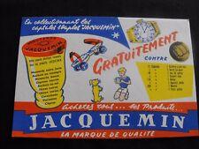 Buvard ancien Jacquemin moutarde enfant chien jouet