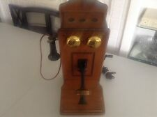 Vintage The Country Belle Guild Tube A.M. Vacuum Tube Radio Telephone Model