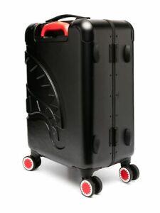 "Sprayground Sharkitecture Carry-On Luggage in Black 21.5"" NWT 100%LEGIT TRAVEL"