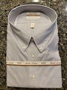 GOLD LABEL ROUNDTREE & YORKE NON-IRON MEN'S 20 - 36 Dress SHIRT
