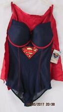 NEW DC COMICS SUPER GIRL WOMEN'S COSTUME BODY SUIT SIZE SMALL