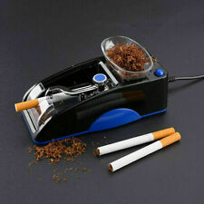 BLUE Cigarette Tobacco Maker Automatic Machine Rolling Electric Roller Injector